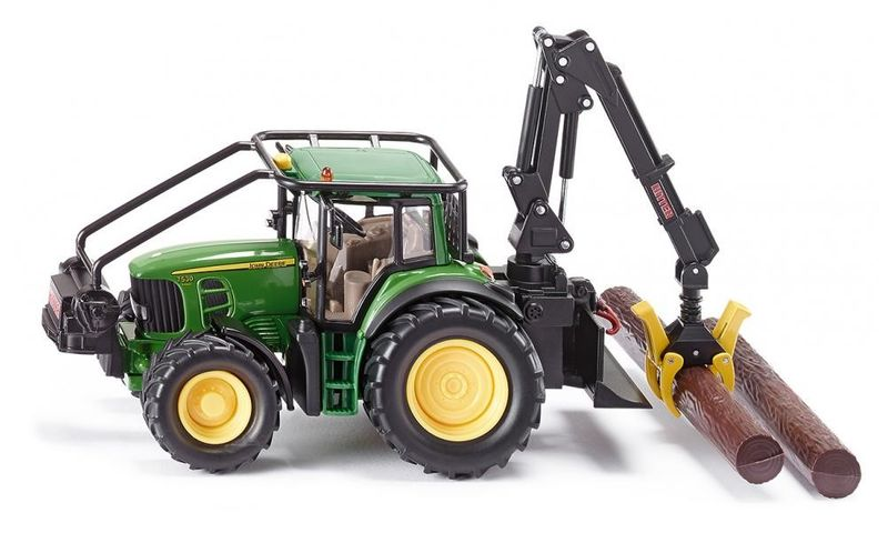 Siku Traktor leśny John Deere zdjęcie 1