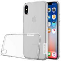 """Apple Iphone X / Xs 5.8"""" NILLKIN NATURE etui cienkie przeźroczyste"""