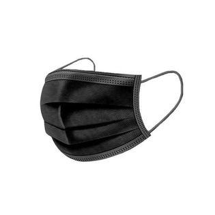 Maseczka jednorazowa ochronna FFP1 50 sztuk czarna