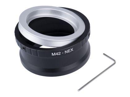 ADAPTER M42 na Sony NEX E-MOUNT + klucz A5100 A6000 A6500 A3000 A7
