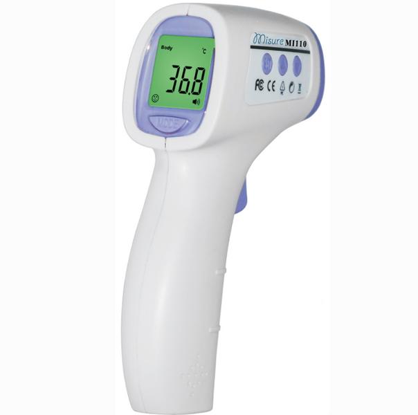 Termometr Bezdotykowy Lekarski Medyczny dla Niemowląt i Dzieci zdjęcie 1