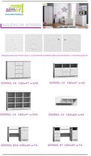 SCHOOL NB10 biurko dziecięce 100x50 w.74