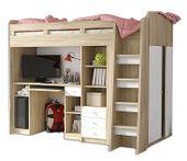 Łóżko Piętrowe dla dzieci, meble młodzieżowe antresola UNIT