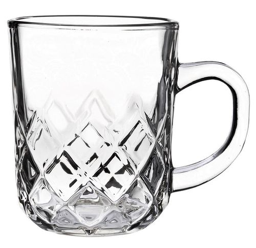 Kubek szklany szklanka z uchem TOMMY 230 ml na Arena.pl