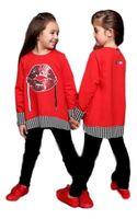 Tunika dziecięca - czerwona - Kids By Voga 134/140