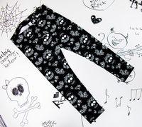 Rockowe legginsy dziecięce Skull Rose Pattern Mia Rock 116/122