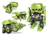 Robot Dinozaur SOLARNY Kreatywna Zabawaka 4w1 zdjęcie 4