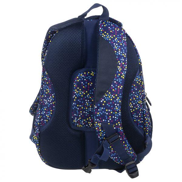 dbd8926872951 Plecak szkolny młodzieżowy Back UP kolorowe kropki MULTICOLOR DOTS +  słuchawki (PLB1A3) zdjęcie 4