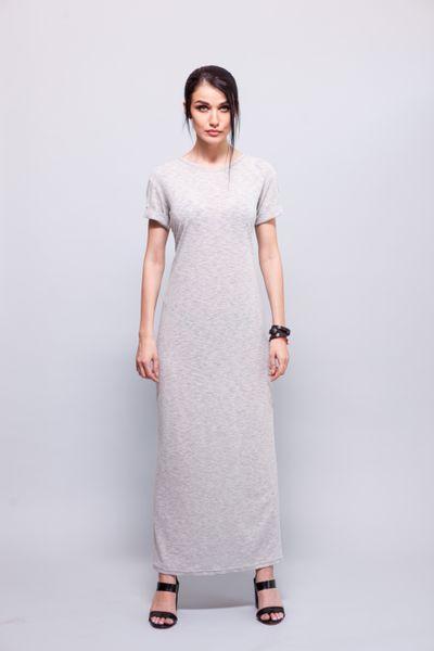 76b8b2e72a Sukienka Z wiskozy