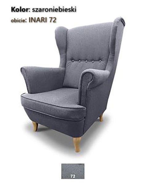 Fotel Uszak Skandynawski - stylowy design zdjęcie 10