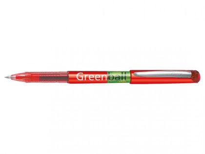 Pilot Green Ball Pióro Kulkowe Czerwone 0,7