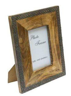 Drewniana ramka na zdjęcia - A-1106A - format zdjęcia 10x15cm