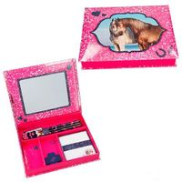 Top Model - Zestaw na biurko Horses Dreams, różowy 8931