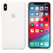 Apple Silicone Case - Oryginalne silikonowe etui do iPhone Xs Max (biały)