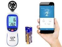 Wiatromierz anemometr miernik wiatru Bluetooth Wintact WT82B