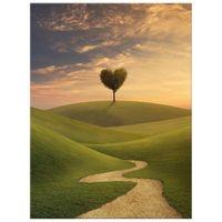 OBRAZ DRUKOWANY  Drzewo serce 30x40