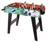 Duży drewniany stół do gry w piłkarzyki