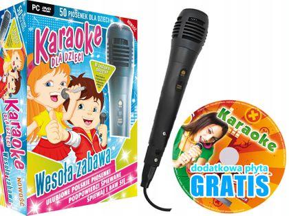 Zestaw Karaoke dla Dzieci, MIKROFON do komputera