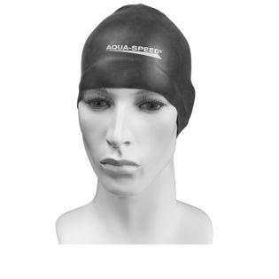 Czepek pływacki treningowy RACER Kolor - Czepki - Racer - 07 - czarny