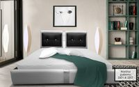 Łóżko tapicerowane Santana 160x200 stelaż pojemnik