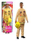 Lalka Barbie Ken Kariera Strażak