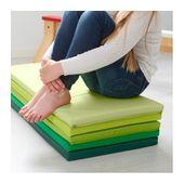Składana mata gimnastyczna PLUFSIG , zielona Ikea zdjęcie 3