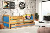Łóżko RICO dla dzieci pojedyncze dla jednej osoby 190x80 + MATERAC zdjęcie 7