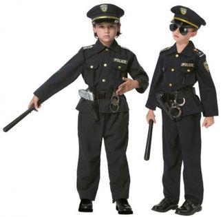 STRÓJ KARNAWAŁOWY AMERYKAŃSKI POLICJANT POLICE 104