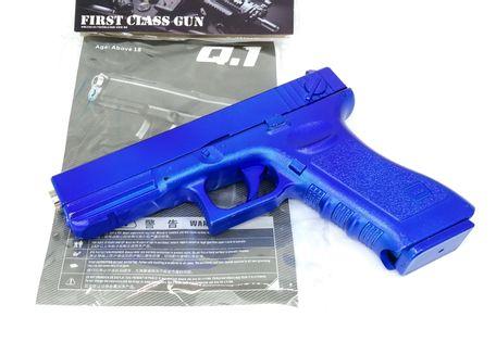 GLOCK Q1 Pistolet NA KULKI DLA DZIECI Replika COLOR - 20 cm