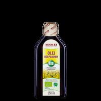 Olej rzepakowy BIO 250 ml tłoczony na zimno