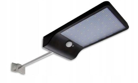 Lampa Solarna LED uliczna c.ruchu zmierzchu uchwyt