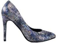 Szpilki czarno perłowe czółenka buty damskie 37