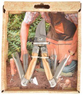 Narzędzie wielofunkcyjne sekator, nóż, piła do drewna