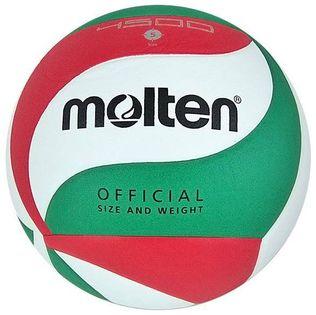 Piłka siatkowa Molten V5M4500 biało-czerwono-zielona