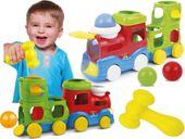 SMILY PLAY Pociąg stuku puku edukacyjna lokomotywa