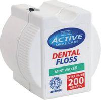 Dental Floss nić dentystyczna woskowana Mint 200 metrów