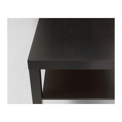 Ikea Lack Stolik Kawowy ława Czarny Brąz 90x55 Cm