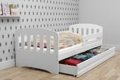 Łóżko dla dzieci HAPPY dziecięce 160x80  + SZUFLADA + MATERAC zdjęcie 4
