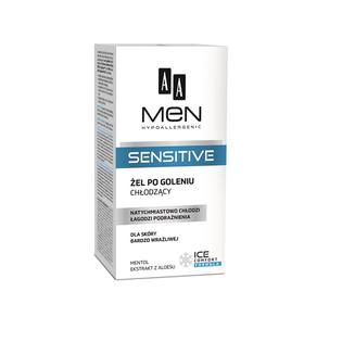 AA Men Sensitive Żel po goleniu chłodzący 100ml