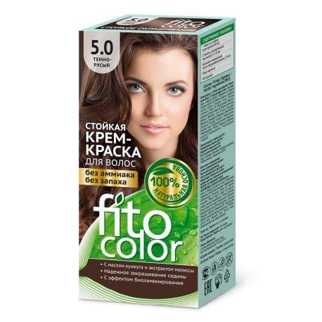 Farba do włosów 5.0 CIEMNY BRĄZ FITOCOLOR Fitokosmetik na Arena.pl