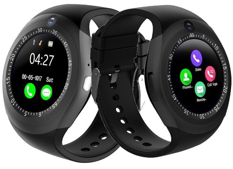 SMARTWATCH ZEGAREK Y1 MENU PL SIM MODEL NEW ANDROID 5 KOLORY SMART na Arena.pl