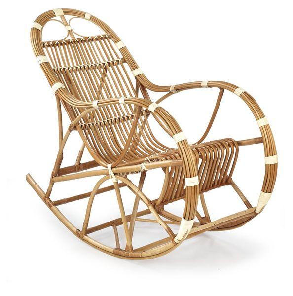 ROCCO HALMAR Wypoczynkowy fotel rekreacyjny BUJANY salonowy tarasowy zdjęcie 1