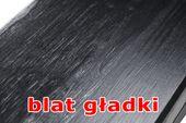 Konsola stalowa z drewnianym blatem SK2