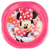 Minnie Mouse - Zestaw 3 talerzyków piknikowych