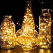 LAMPKI CHOINKOWE OZDOBNE MIKRO 100 LED 11metrów NA PRĄD DRUCIKI zdjęcie 3