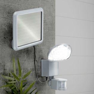 Lumarko Solarna lampa ogrodowa LED z czujnikiem ruchu, plastik