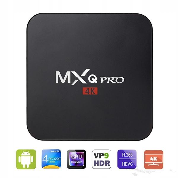 TV BOX MXQ PRO S905x Android 7 SMART 4K 2GB RAM zdjęcie 5