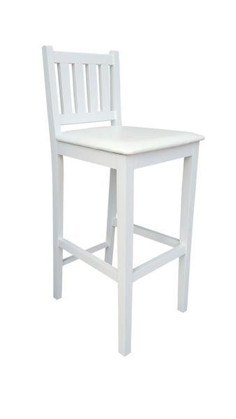 Biały Hoker H1 Krzesło Barowe, kuchenne od Producenta zdjęcie 3