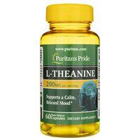 Puritan's Pride L-Teanina 200 mg - 60 kapsułek