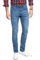 SPODNIE MĘSKIE MUSTANG SPODNIE MĘSKIE Jeans Bosten Slim Fit Fresh Blue 1007660 5000 602 W33 L32